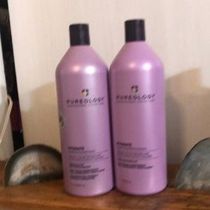 2 LITER Pureology Hydrate Shampoo Conditioner NEW